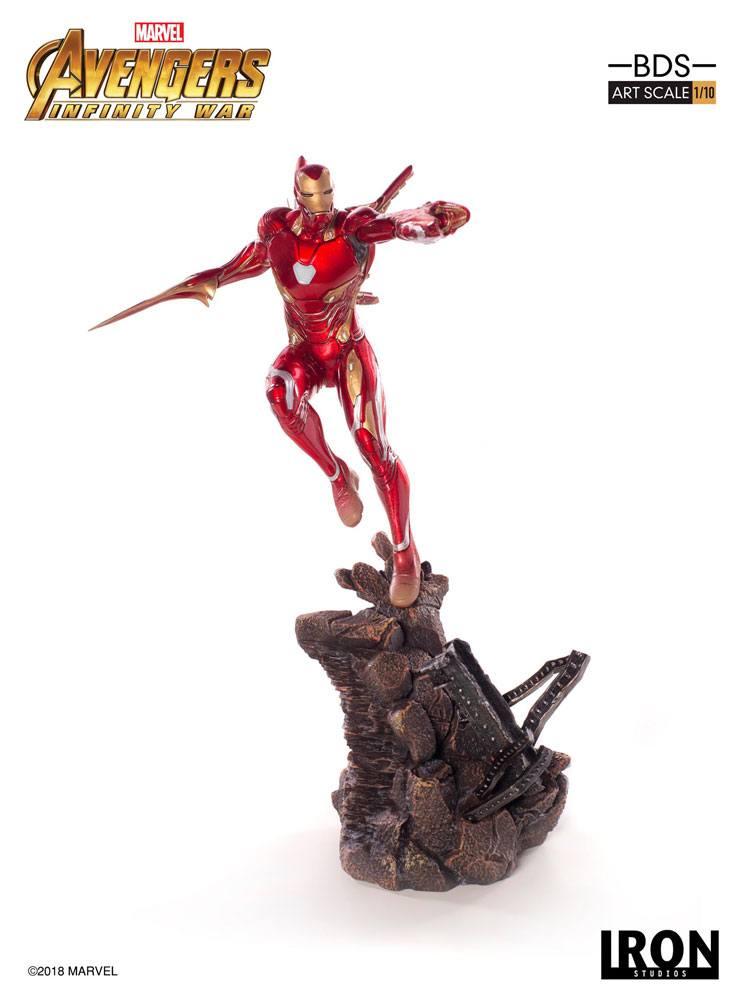 Iron Studios - Avengers Infinity War BDS Art Scale Statue 1/10 Iron Man Mark L 31 cm