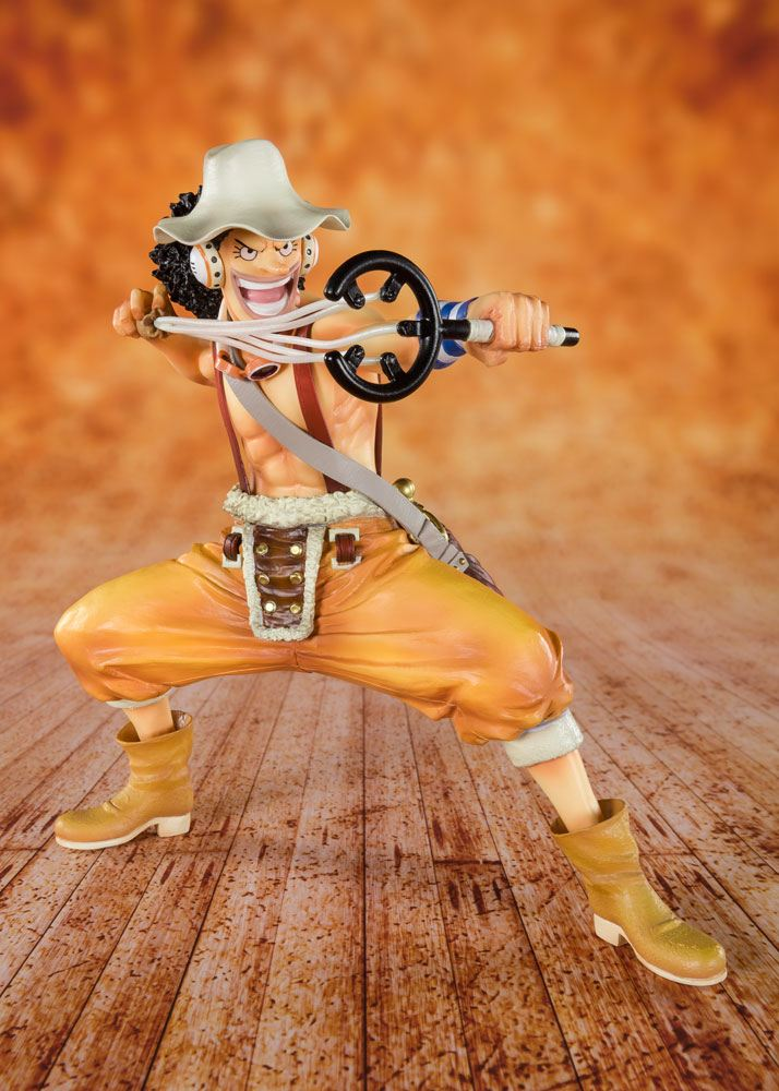 Bandai - One Piece Figuarts ZERO PVC Statue Sniper King Usopp 12 cm