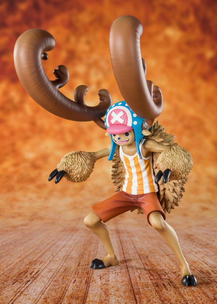 Bandai - One Piece Figuarts ZERO PVC Statue Cotton Candy Lover Chopper Horn Point Ver. 14 cm