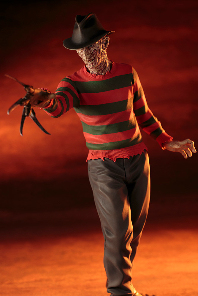 Kotobukiya - ARTFX Statue - A Nightmare on Elm Street 4 The Dream Master - Freddy Krueger - 1/6 28 cm