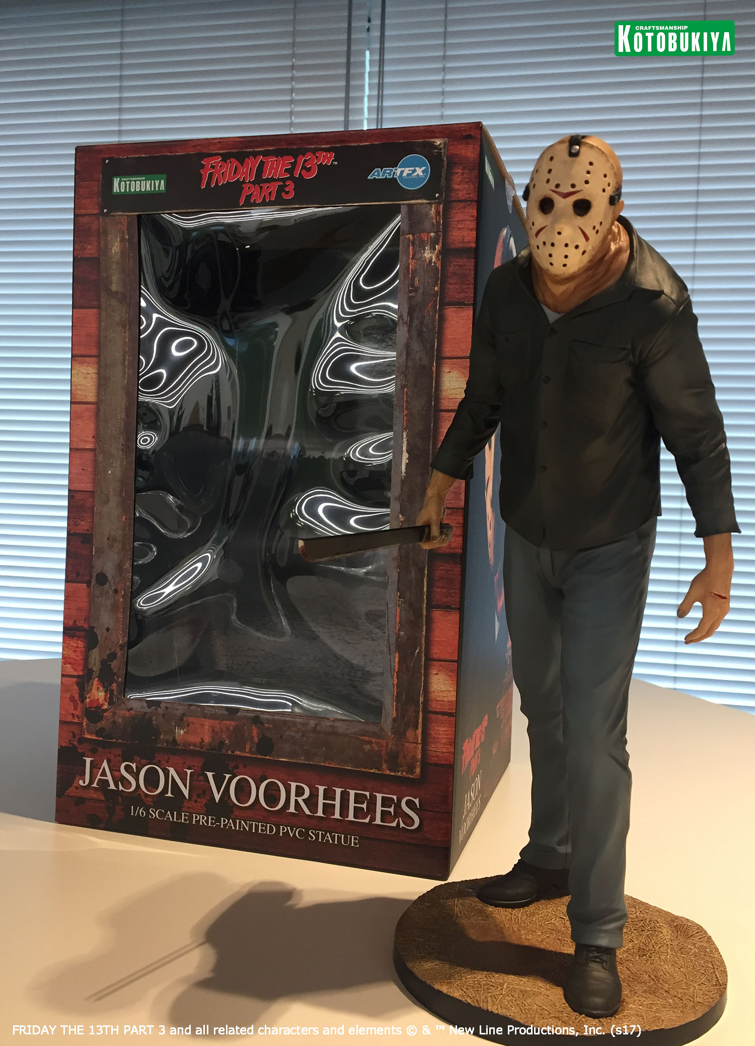 Kotobukiya - ARTFX Statue - Friday the 13th Part III - Jason Voorhees - 1/6 28 cm