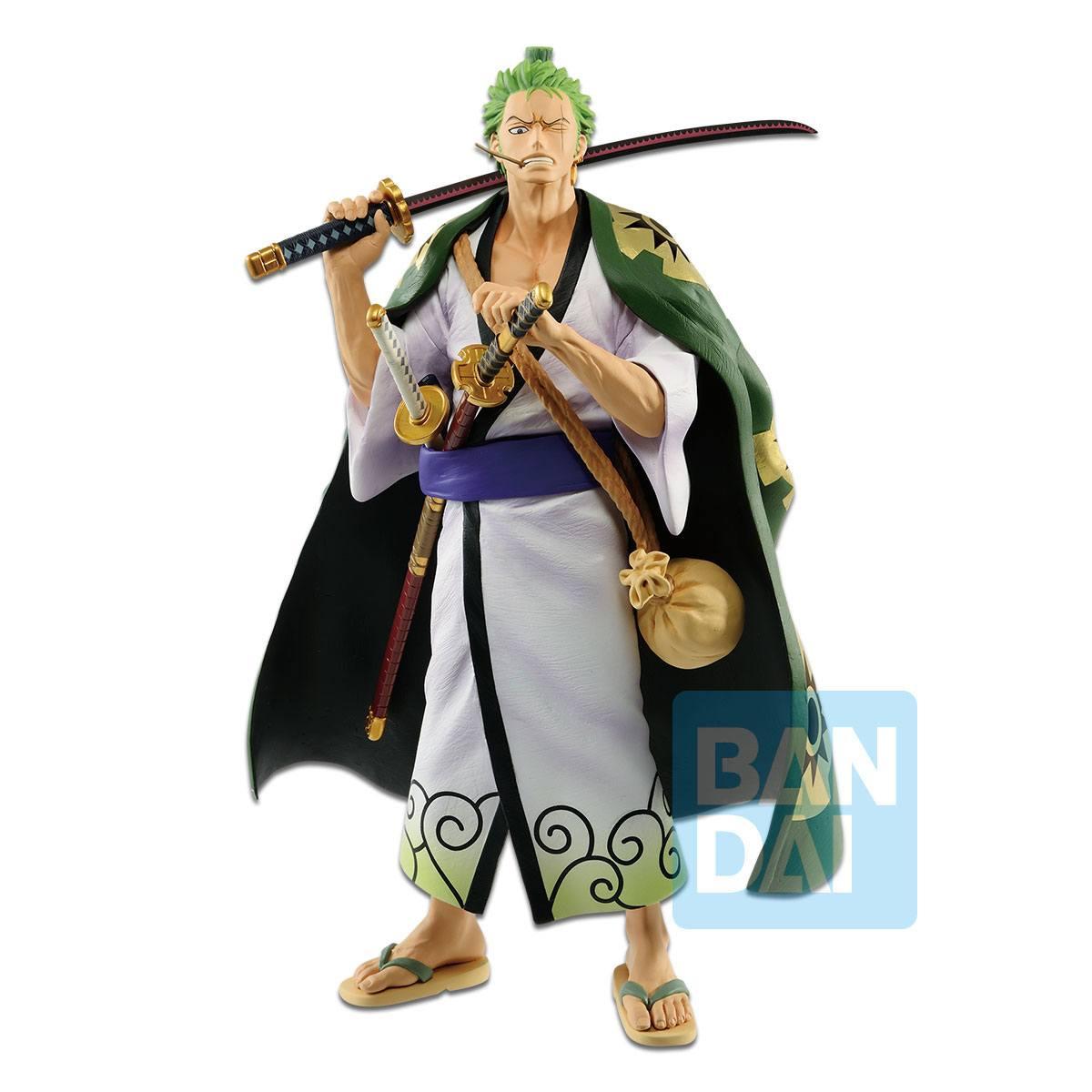 Bandai - One Piece Figure Zoro Japanese Style 26 cm