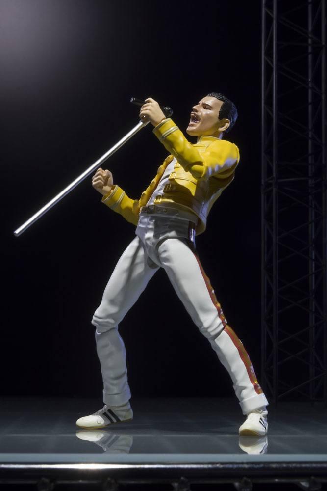 Bandai - Freddie Mercury S.H. Figuarts Action Figure 14 cm