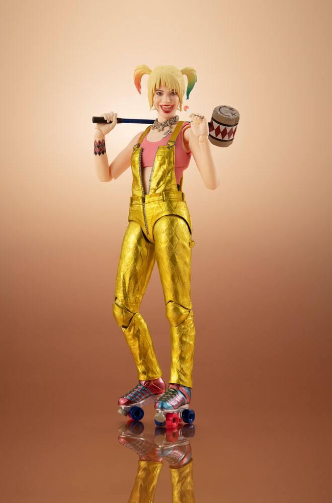 BANDAI Birds of Prey SH Figuarts Action Figure Harley Quinn 15 cm
