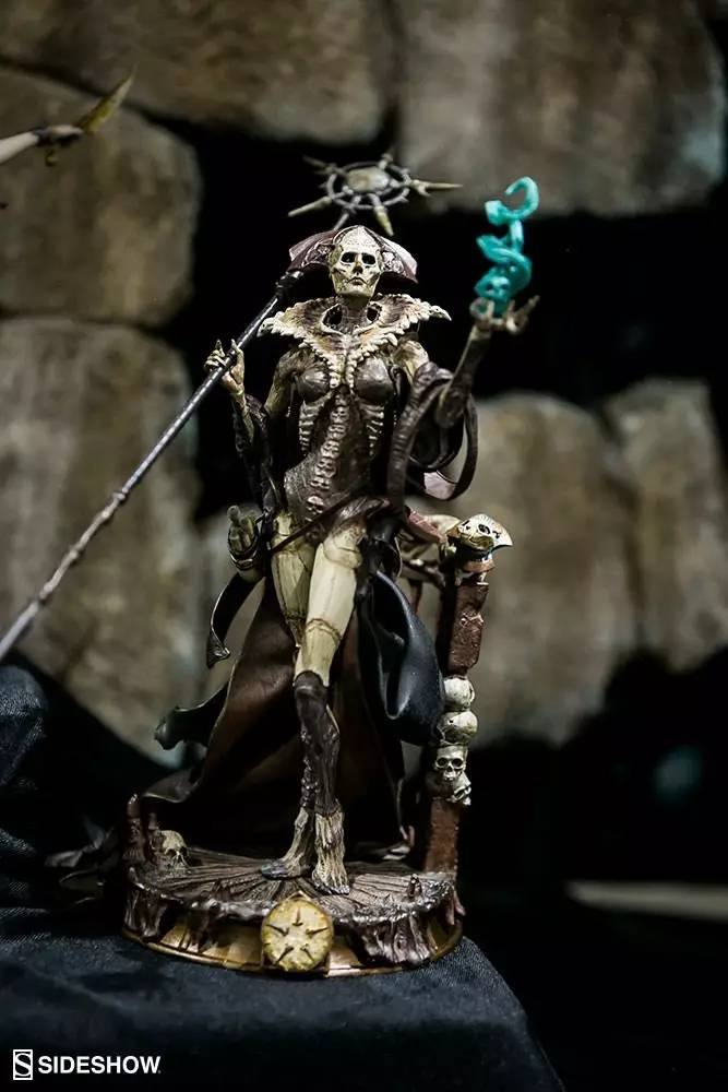 Sideshow Pure Arts - Court of The Dead: Xiall Osteomancers Vision Statue PVC 33 cm