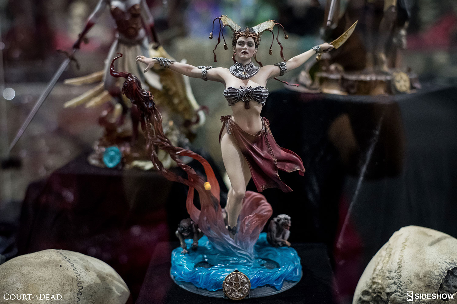 Sideshow Pure Arts - Court of The Dead: Gethsemoni - Queens Conjuring Statue PVC  25cm