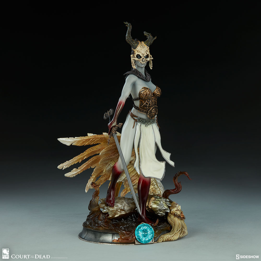 Sideshow Pure Arts - Court of The Dead: Kier - Valkyries Revenge Statue PVC 27 cm