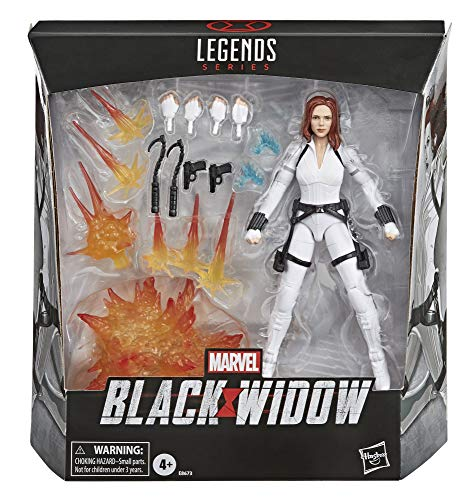 Hasbro Marvel Legends Series - Black Widow Action Figure 15cm da Collezione, Ispirata al Film Black Widow