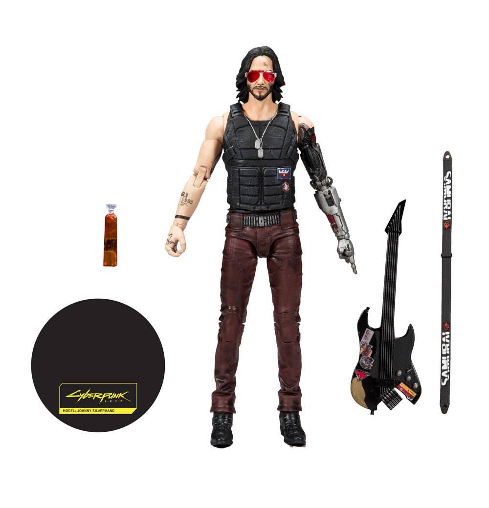 McFarlane Toys Cyberpunk 2077 Action Figure Johnny Silverhand 18 cm