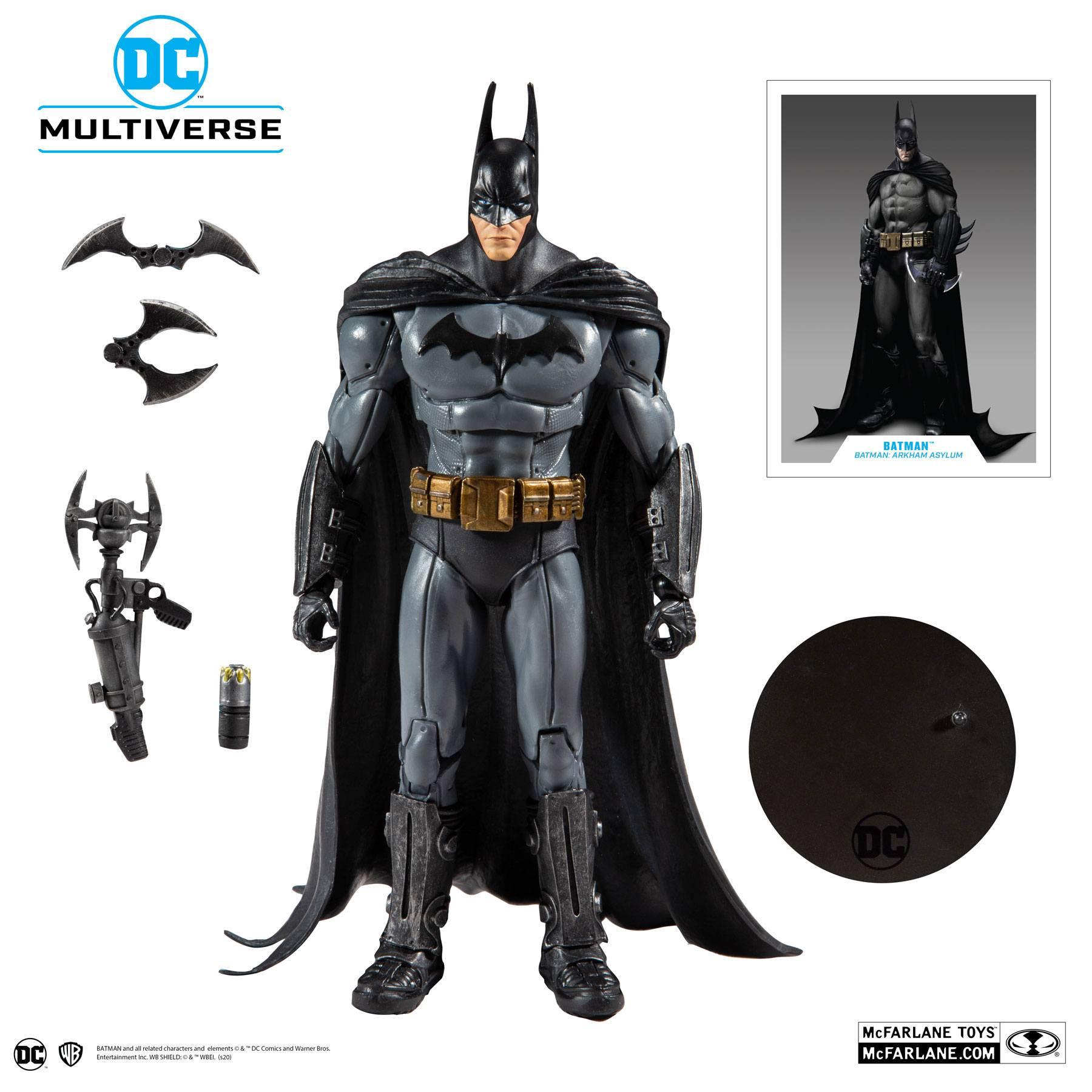 McFarlane Toys Batman Arkham Asylum Action Figure Batman 18 cm