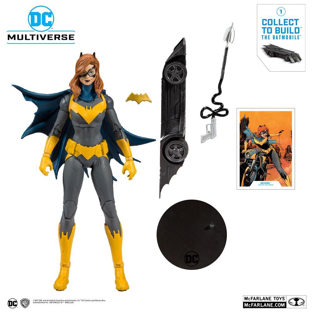 McFarlane Toys DC Rebirth Build A Action Figure Batgirl (Art of the Crime) 18 cm