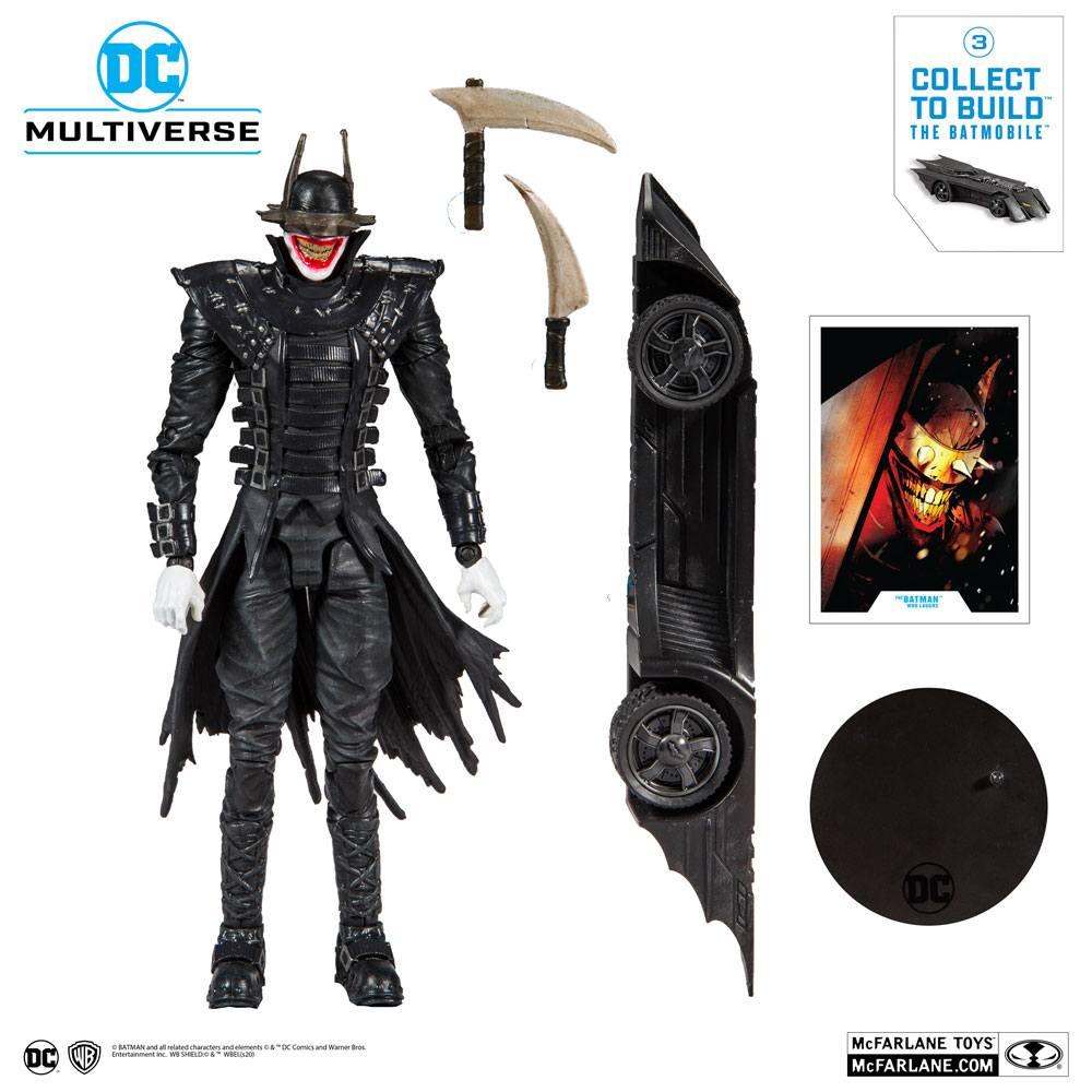 McFarlane Toys Dark Nights: Metal Build A Action Figure The Batman Who Laughs 18 cm