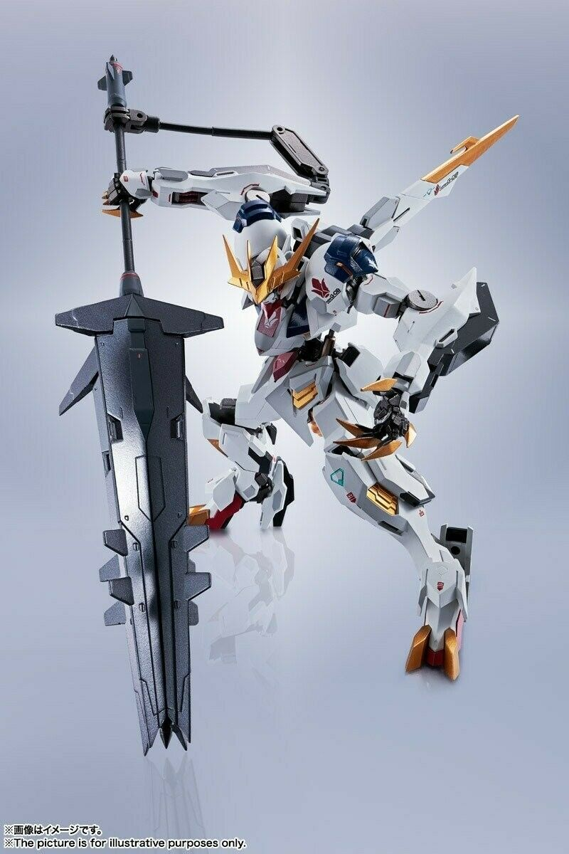 BANDAI Gundam Barbatos Lupus Rex Metal Robot Spirit 15 cm Action Figure
