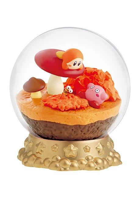Re-Ment Kirby Terrarium Collection Dream Land Seasons Kirby and cherry blossoms capsule