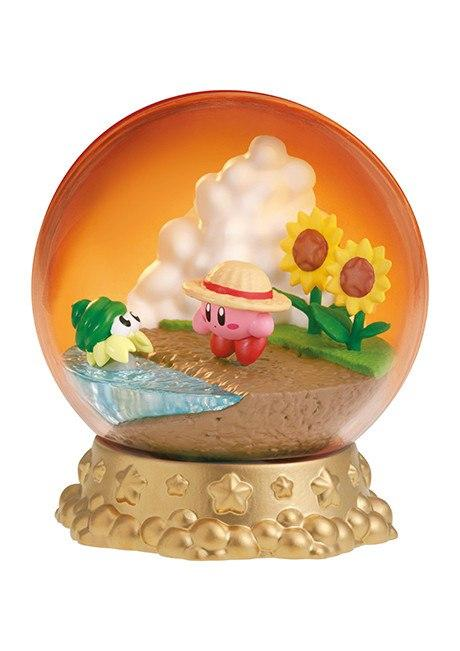Re-Ment Kirby Terrarium Collection Dream Land Seasons Kirby in the sunset capsule
