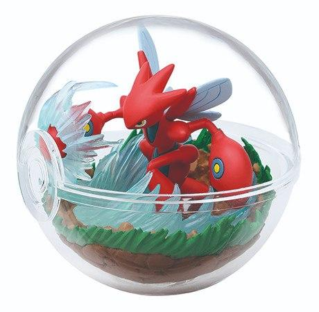 Re-Ment Pokemon Terrarium Collection Vol.8 Scizor capsule