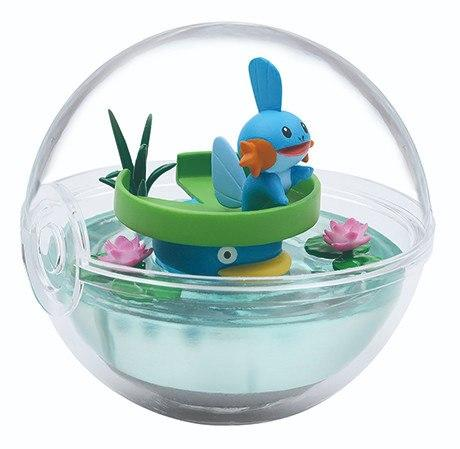 Re-Ment Pokemon Terrarium Collection Vol.8 Lotad and Mudkip capsule