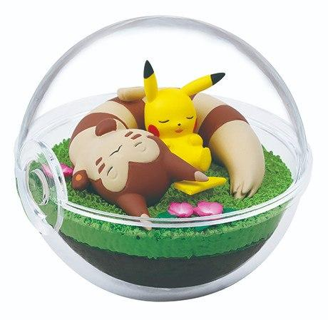 Re-Ment Pokemon Terrarium Collection Vol.8 Pikachu and Furret capsule