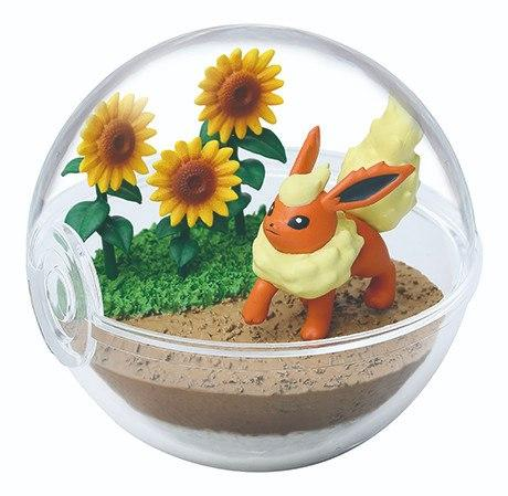 Re-Ment Pokemon Terrarium Collection Vol.8 Flareon capsule