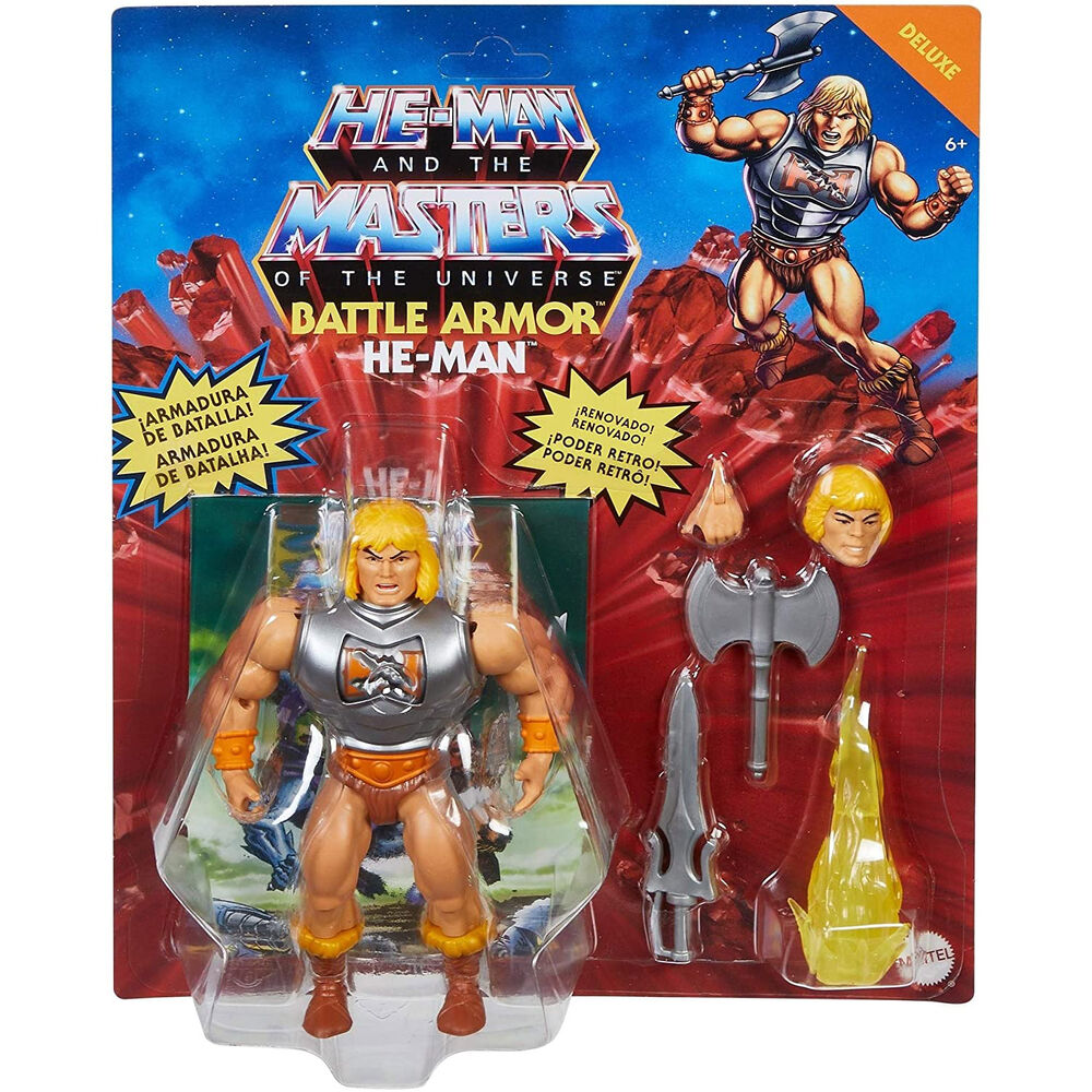 Mattel Masters of the Universe Deluxe Action Figure 2021 He-Man 14 cm