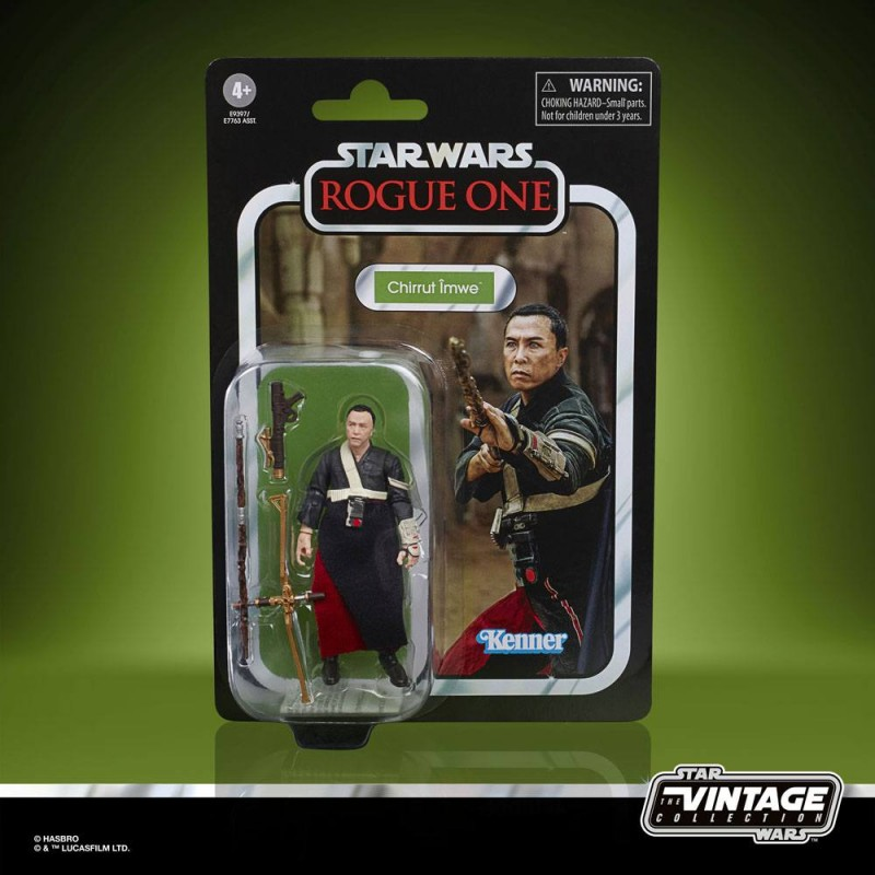 Hasbro Star Wars Vintage Collection Action Figures 10 cm 2021 CHIRRUT IMWE