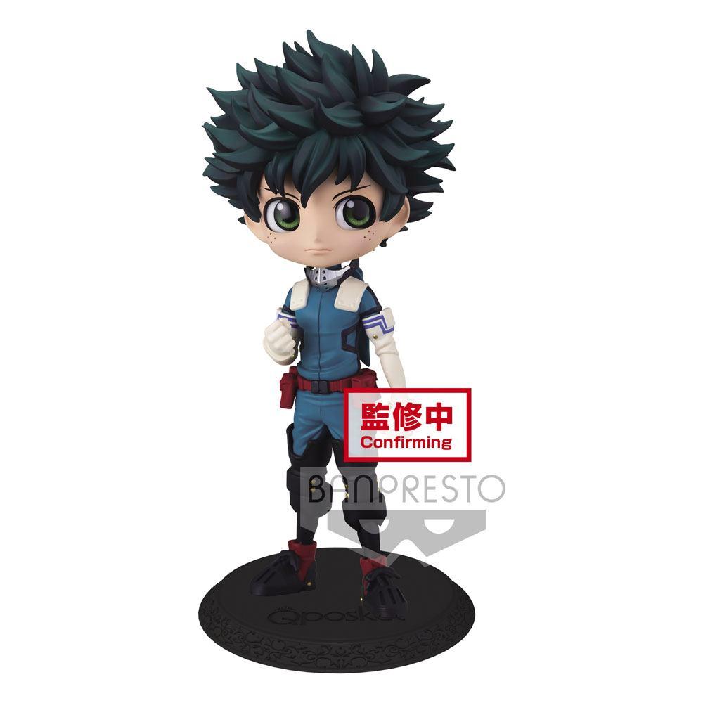 Banpresto My Hero Academia Q Posket Mini Figure Izuku Midoriya Ver. A 14 cm