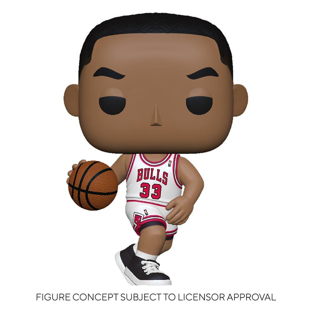 Funko NBA Legends POP! Sports Vinyl Figure Scottie Pippen (Bulls Home) 9 cm
