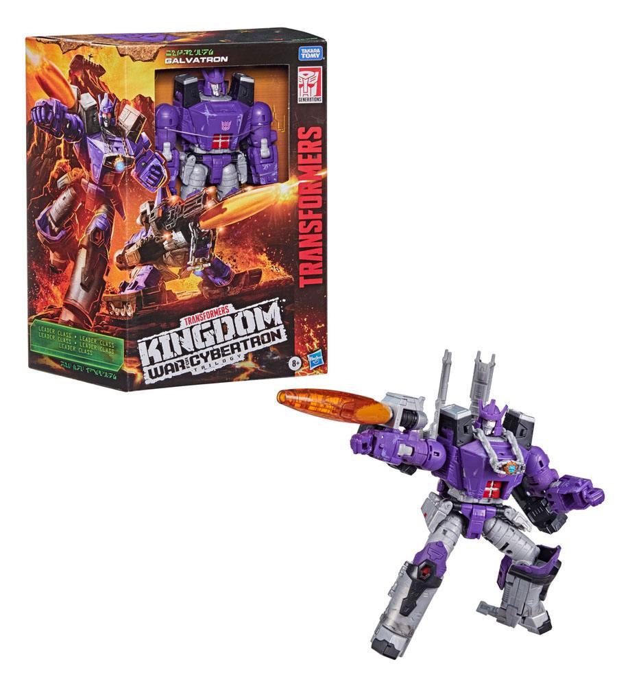 Hasbro Transformers Generations War for Cybertron: Kingdom Action Figures Leader 2021 Galvatron